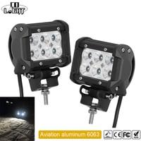 CO LIGHT 2 PCS 4 INCH 18W Car Headlight LED WORK LIGHT FOR OFF ROAD 4X4
