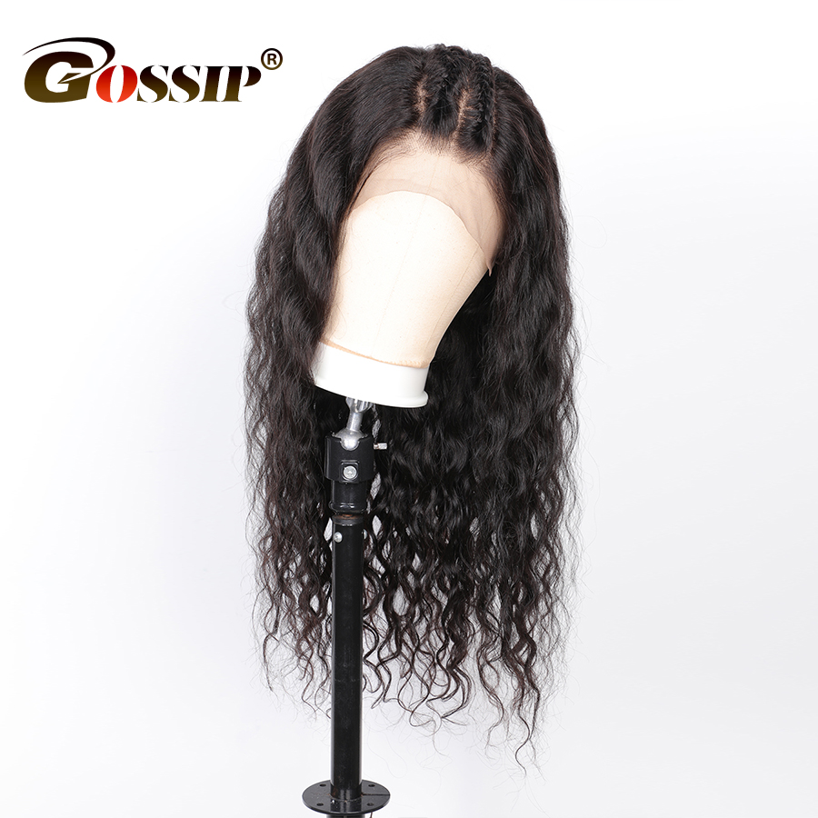 Curly Human Hair Wig Gossip 13x6 Lace Front Wig Remy Peruvian Lace Front Human Hair Wig