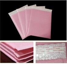 50pcs מעטפה מרופדת מעטפת שקיות ורוד מיילר מרופד מעטפת עם מעטפה מרופדת מעטפת שקיות גדול חינם אריזת שקיות