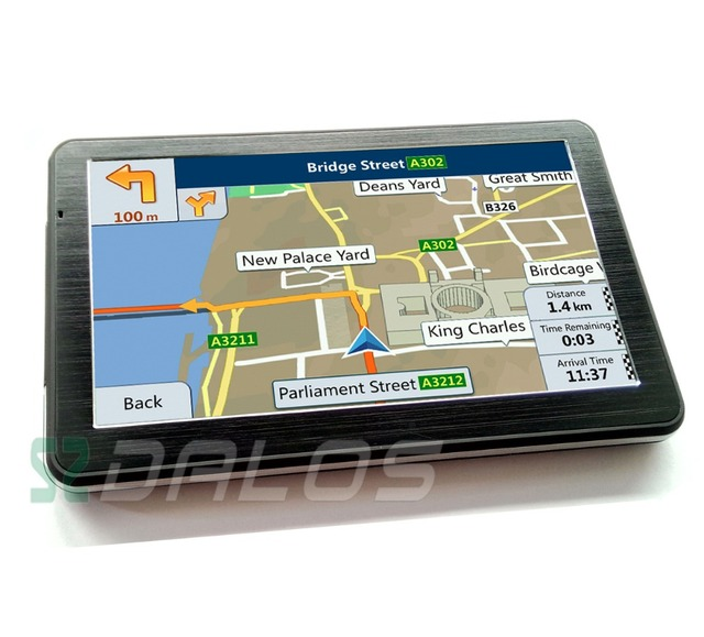 Inch Gps Pnd Portable Car Gps Navigation With G  Ram New Maps For