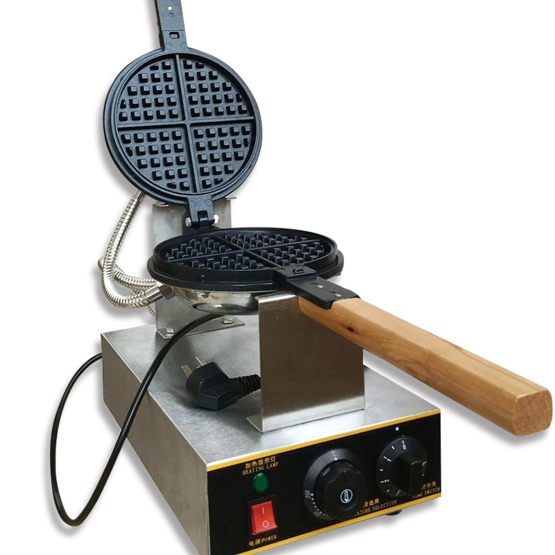220V/110V Commercial electric Chinese Hong Kong eggettes puff egg waffle iron maker machine bubble egg cake oven JW-6F chupa chups