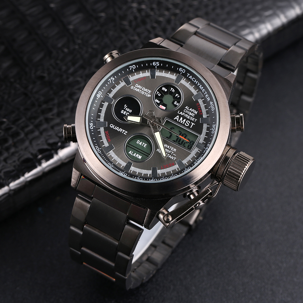 AMST Outdoors Military Style Watch 1