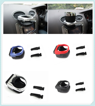 Car air conditioning stand water bottle cup holder bracket For Ford Focus MK2 MK3 MK4 kuga Escape Fiesta Ecosport Mondeo Fusion image