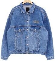 J40780 High quality 2018 Autumn Fashion Denim Outerwear Coats Jeans Coats Loose Casual BoyFriend Style Denim Jackets