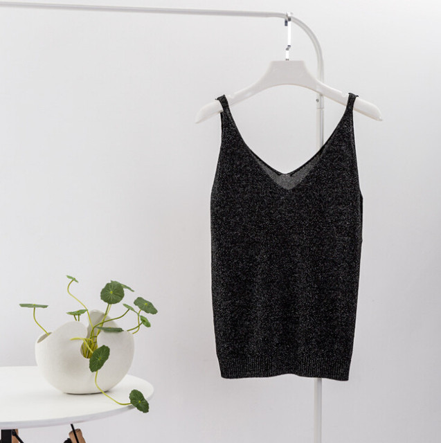 2019 Sexy Knitted Top Tank...