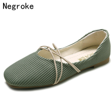 Leisure Women Flats Slip-On Ballet Flats Zapatillas Mujer Woman Shoes Summer Autumn Shallow Boat Shoes Casual Zapatos Mujer 2019 стоимость