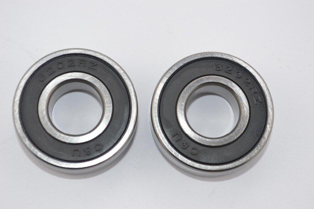 2pc NEW OEM KT.M Ball Bearing 97-08 50 SX Mini Junior Pro Senior 625062027 NOS 15 <font><b>x</b></font> <font><b>35</b></font> <font><b>x</b></font> <font><b>11</b></font> mm 6202