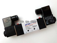 Pneumatic Valve 4V220 08 12V 24V 110V 220V DC 1 4 2 Position 5 Way Air