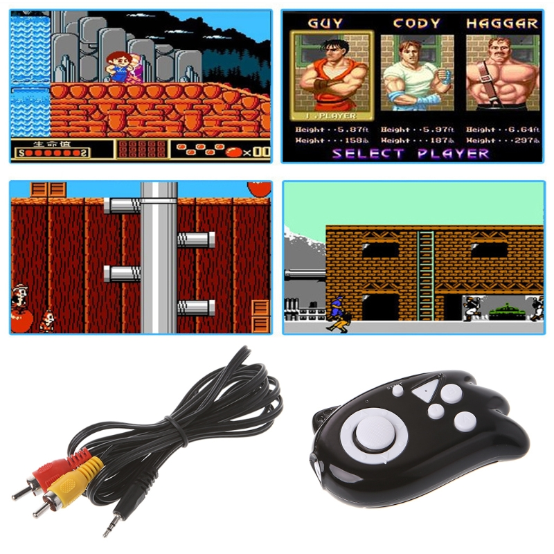 Mini Video Gaming Console 8 Bit Built-In 89 Classic Games TV Output Game Player
