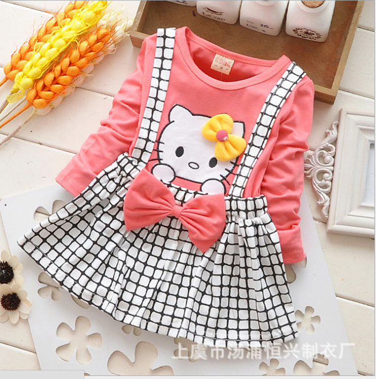 Aliexpress.com : Buy Newest Arrive Hello Kitty Baby Dress Full ...