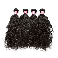 Water Wave Human Hair Bundles 4 Bundle Deals Wavy Brazilian Hair Weave Bundles Unprocessed Virgin Hair 1&2&3 Bundles Prosa