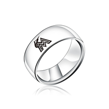 buy souvenirs miami and get free shipping on aliexpress Miami Beach Police Car fashion miami marlins fish logo stainless steel men rings jewelry women men fans souvenir gifts vintage