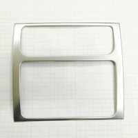 For Volkswagen Touran 2009 2015 Stainless steel Car Central Control Panel decoration Cover Trim