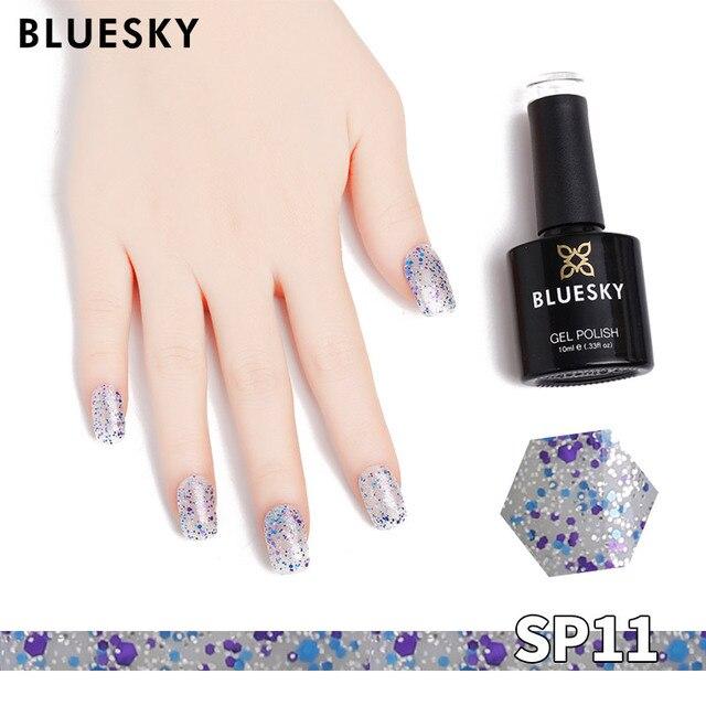 US $10.63 |Bluesky Gel Nail Polish Color 10ml Soak off UV Gel Nail Polish  for Nail Art need UV Lamp SPSR 1-in Nail Gel from Beauty & Health on ...