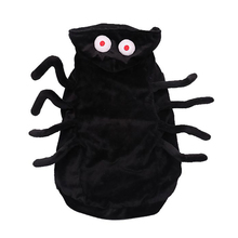 Halloween Pet Costume Warm Hoodie Spider Pet Clothes Pet Apparel For Cat Dog Party Decoration