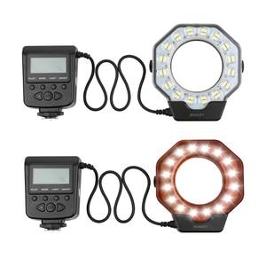 Image 2 - SHOOT Led Macro Ring Flash Light for Nikon D5300 D3400 D7200 D750 D3100 Canon 1300D 6D 5D Olympus e420 Pentax K5 K50 Dslr Camera