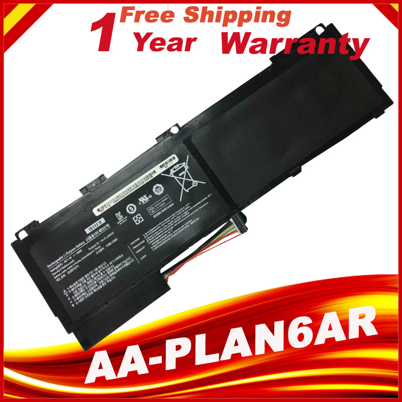 AA-PLAN6AR Original Laptop Battery For SAMSUNG 900X1 900X1B-A01 900X1BA01 900X3 Series 900X3AA01 new 7 4v 8400mah 62wh aa pbxn8ar battery for samsung np900x4 900x4b a01de 900x4c a01 900x4b a02us free shipping