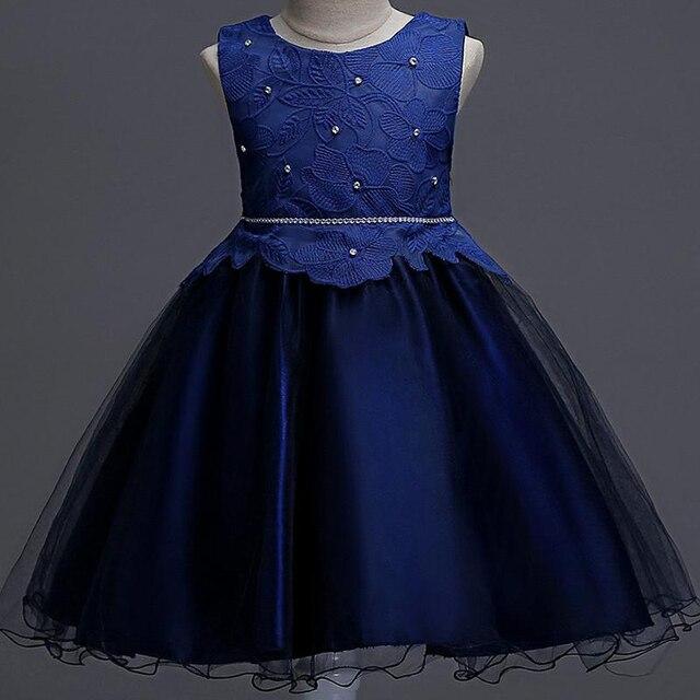 8eae91b12 CAILENI Girls Dress Pearls Flower Children Birthday Dresses ...