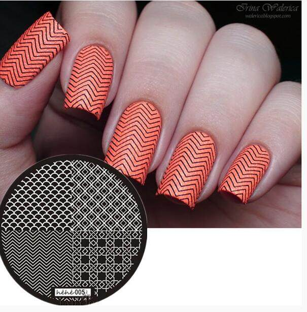 Online Shop 2018 New Style Nail Art Stamp Template Image Plate