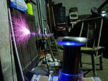 MIDI Musical tesla coil amazing flashing Generator high volt  Marx generator big ARC  spark SSTC Teaching experiment