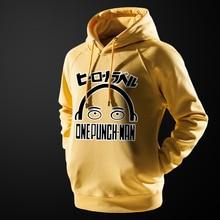 One Punch Man Yellow Hoodie