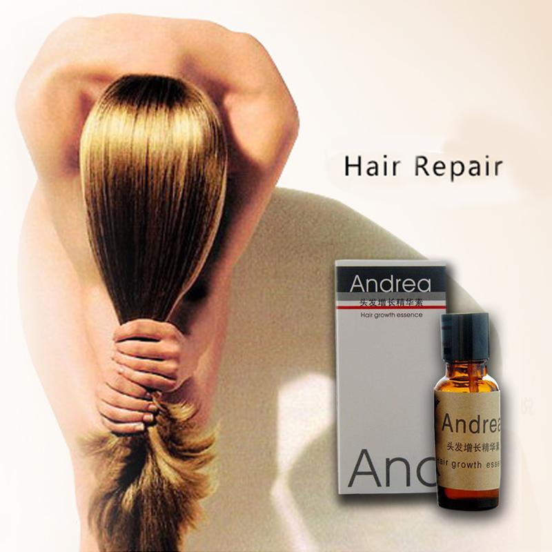 Andrea Crecimiento Del Pelo Rápido Esencia Herbal Queratina del cabello alopecia pérdida Jengibre líquido sunburst Crecimiento Del Pelo de yuda Pilatory Aceite