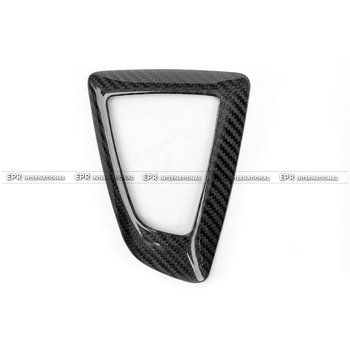 Car-styling For BMW F20-23 F30 F32 F33 F36 M2 Carbon Fiber Gear Surround Trim Cover LHD Glossy Fibre Interior Set Auto Body Kit image