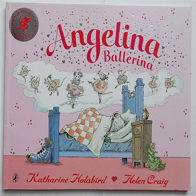 Angelina Ballerina Angelina and the Princess children English reading books For kids baby English Picture Book for Children mastering english prepositions