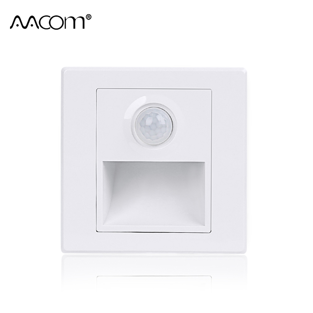 Lighting Basement Washroom Stairs: PIR Motion LED Wall Stair Lamps Infrared Human Body