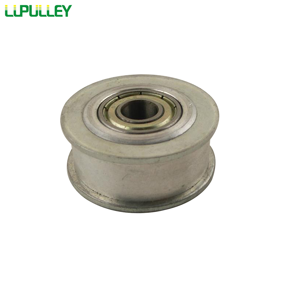 LUPULLEY XL Timing Belt Idler Pulley With Bearing 20T Passive Pulley NoTeeth Bore Hole 5/6/7/8/10/12/15mm 11mm Belt Width 1PC
