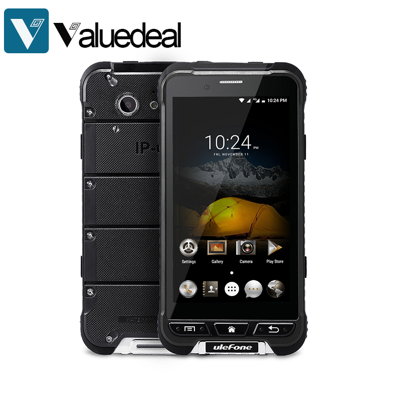 Цена за Оригинал ulefone БРОНЯ 4 Г LTE IP67 Водонепроницаемый 4.7 дюймов FHD MT6753 Окта основные Android 6.0 Мобильный Телефон 3 ГБ 32 ГБ 13.0MP смартфон