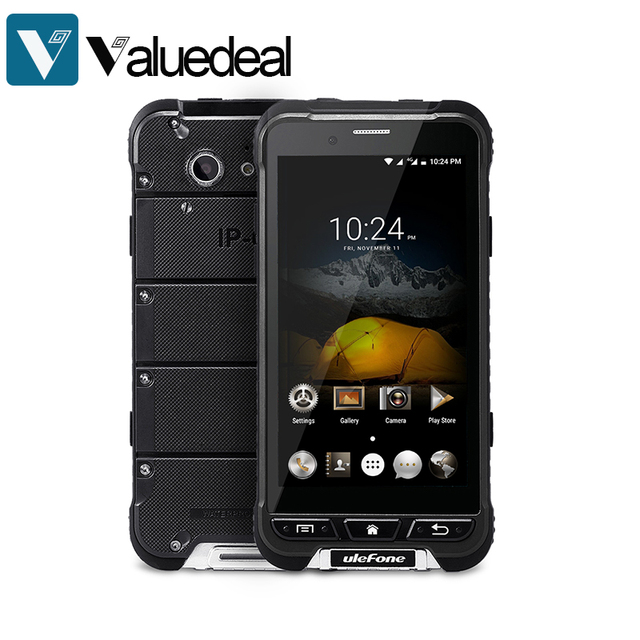 Original ulefone ARMOR 4G LTE IP67 Waterproof 4.7 inch FHD MT6753 Octa Core Android 6.0 Mobile Phone 3GB 32GB 13.0MP smartphone