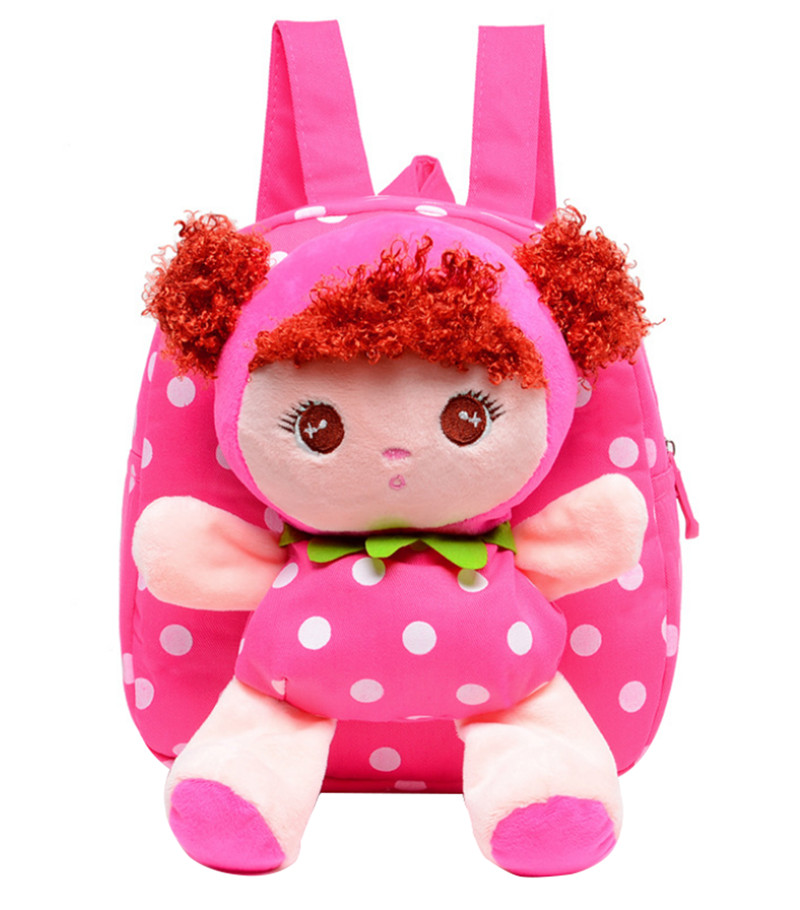 Cartoon School Backpack for Kindergarten Nursery Kids Little Girls Toddler Gift