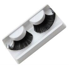 1pair Black Super Long False Winged Eyelashes,Women Beauty Tool