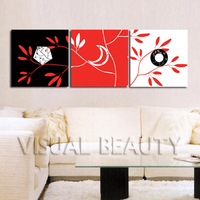 FREE SHIPPING Simple Images Canvas for Photo Oil Painting Canvas Art Print on Canvas(Unframed)50x50cmx3pcs