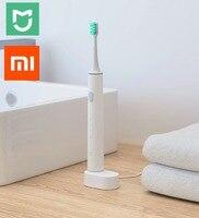Instock Xiaomi Mijia Smart Tooth Sonic Electric brush Wireless Charge Waterproof Bluetooth Smart Via phone APP Control