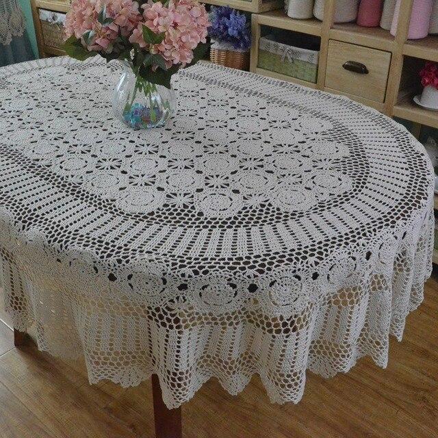 Aliexpress.com: Acheter Fait main Au Crochet Table tissu