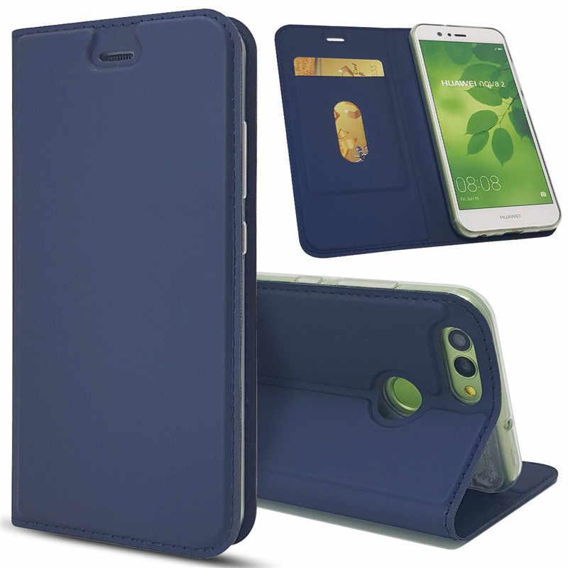 ICovercase Sang Trọng Lật Nam Châm Bao Da Ốp Lưng Cho Huawei Honor 6X 7X 8 9 Lite 6C 6A Cover 8 Lite funda Capa Etui