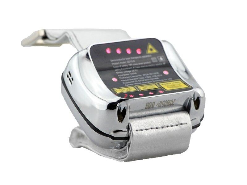 LASTEK diabete macchina di terapia laser a basso livello orologio da polso misuratore di pressione sanguigna