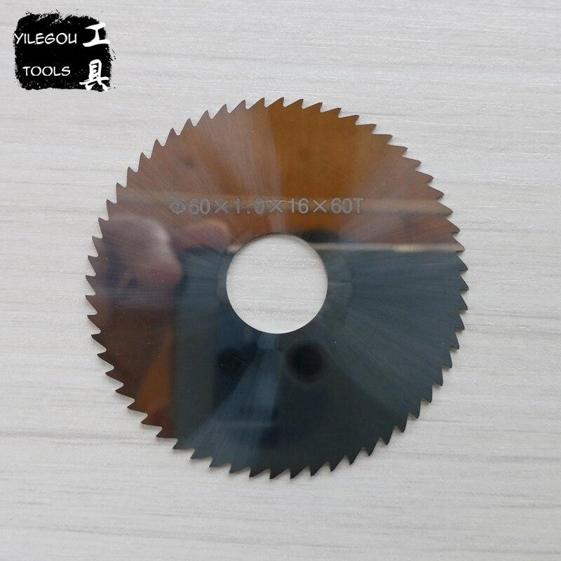 Diameter 60mm Solid Tungsten Carbide Steel Circular Saw Blades, Thickness 0.5-3.0mm Tungsten Steel Saw Blade 60mm Milling Cutter