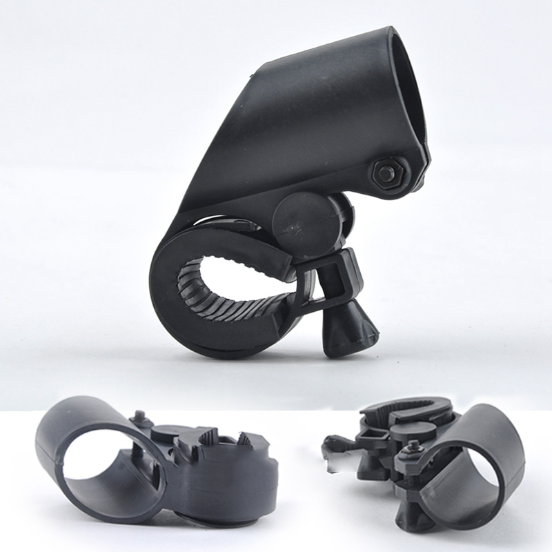 1Pcs Bicycle Flashlight Clip Anti-skid Bike Flashlight Cycling Clip Headlight Light Holder Torch Bracket For Bicycle  Bike