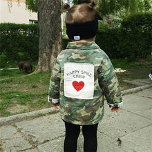 VTOM Baby Girls Boys Jacket Cardigan New Fashion Spring Autumn Camouflage Coats Children's Windbreaker Outerwear Kids Clothes(China)