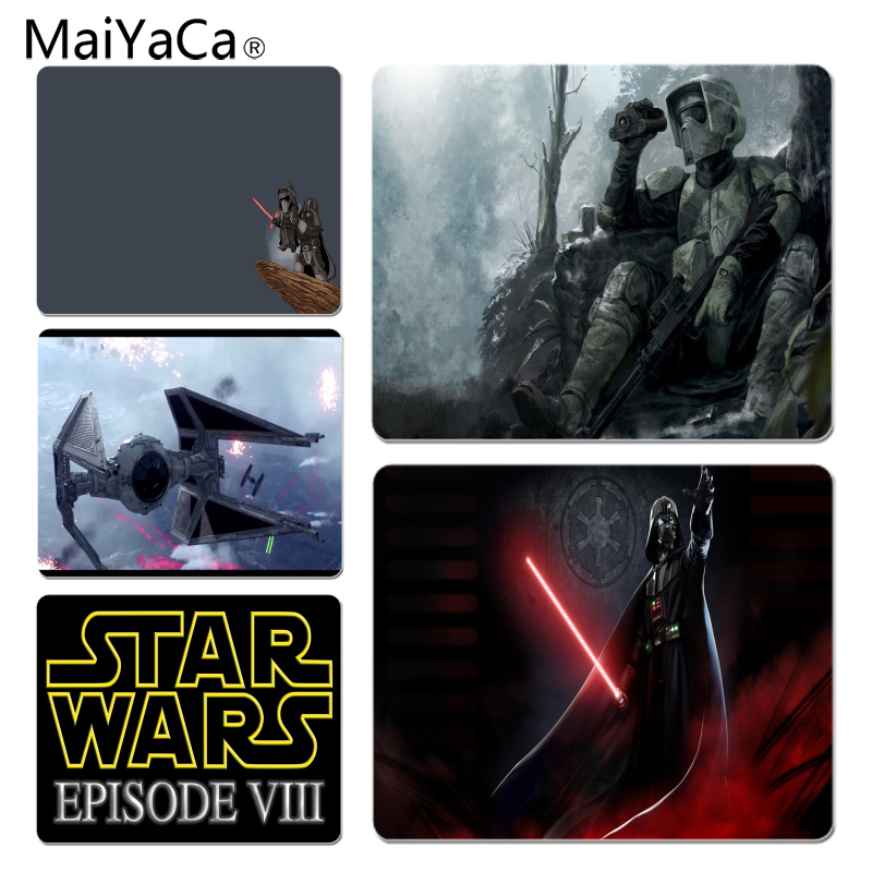 MaiYaCa Star Wars Computer Gaming Mousemats Size for 25X29cm Gaming Mousepads ...
