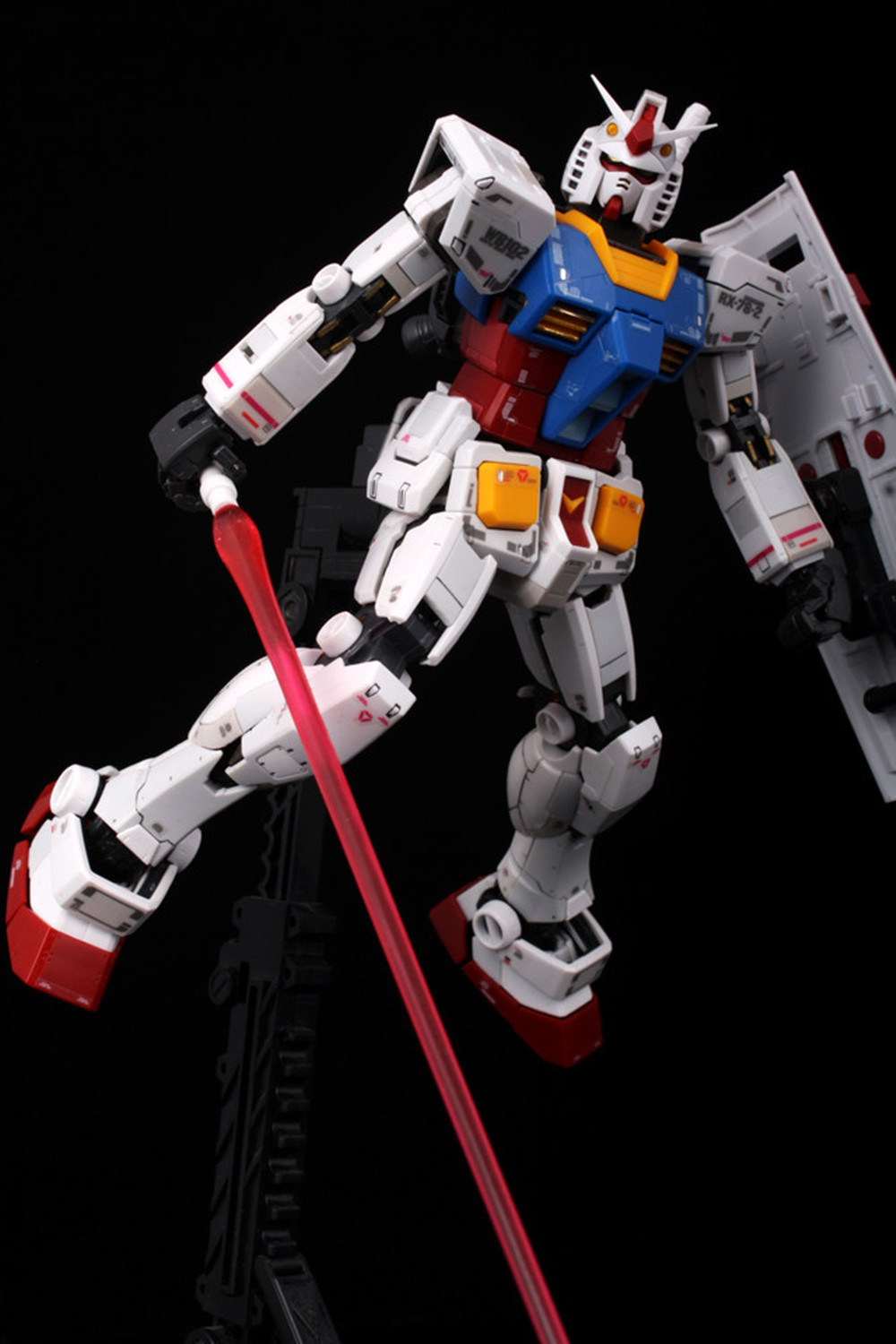 Action Figures Toys Metal Collections For RX-78-2 3D Metal Puzzle GUNDAM MIni DIY Laser Cut Puzzles Jigsaw