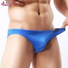 Transparent Brief Nylon Sous Vetement Homme Calzoncillos Slips