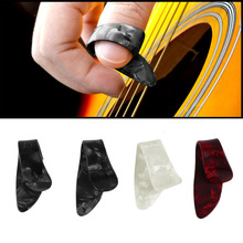 4Pcs/Set Practical Plastic Guitar Picks Thumb Finger Nail String Guitar Picks Plectrums Musical Instrument Accessories New