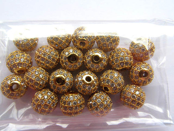 AAA grade 8mm 10mm 16pcs pave metal spacer &cubic zirconia crystal round ball silver gold gunemtal black jet DIY jewelry beadsAAA grade 8mm 10mm 16pcs pave metal spacer &cubic zirconia crystal round ball silver gold gunemtal black jet DIY jewelry beads