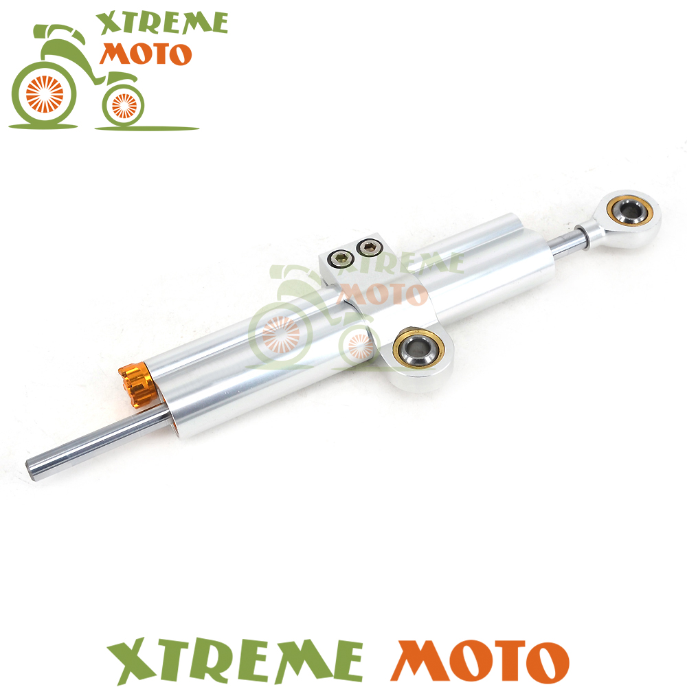 Universal Adjustable Motorbike Steering Damper Stabilizer Linear For KTM Honda Suzuki Yamaha Kawasaki Motorcycle Motocross