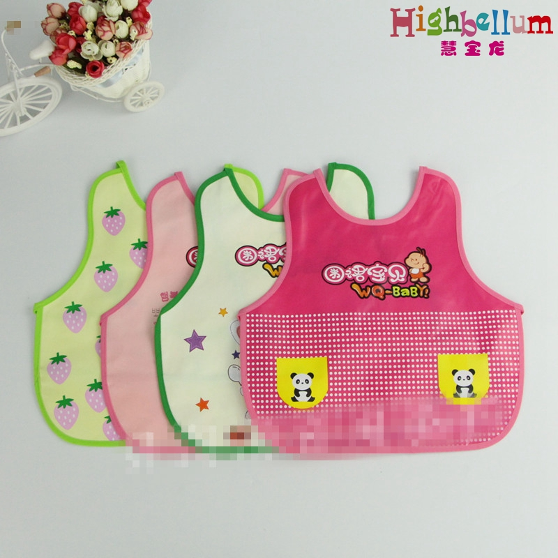 Hot 2017 Baby bib Burp Cloth waterproof multifunction lunch feeding baby products Free Shipping