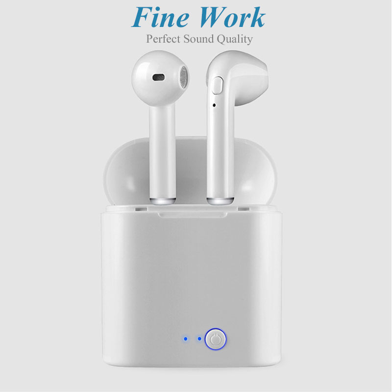 I7s TWS Wireless Bluetooth Earphones For Sports With Microphone For Smartphones 12